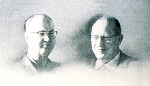 Дик и Мак Макдоналды - основатели концепции ресторанов McDonald's
