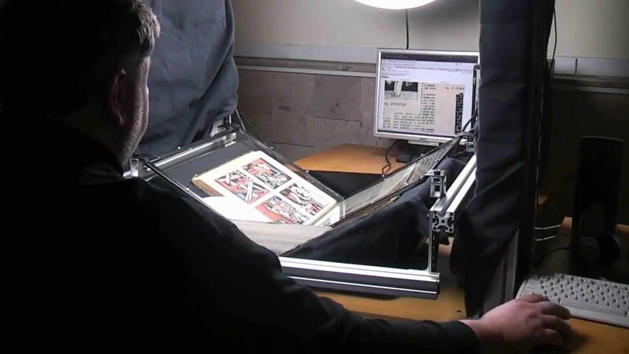 Бизнес по оцифровке бумажных изданий