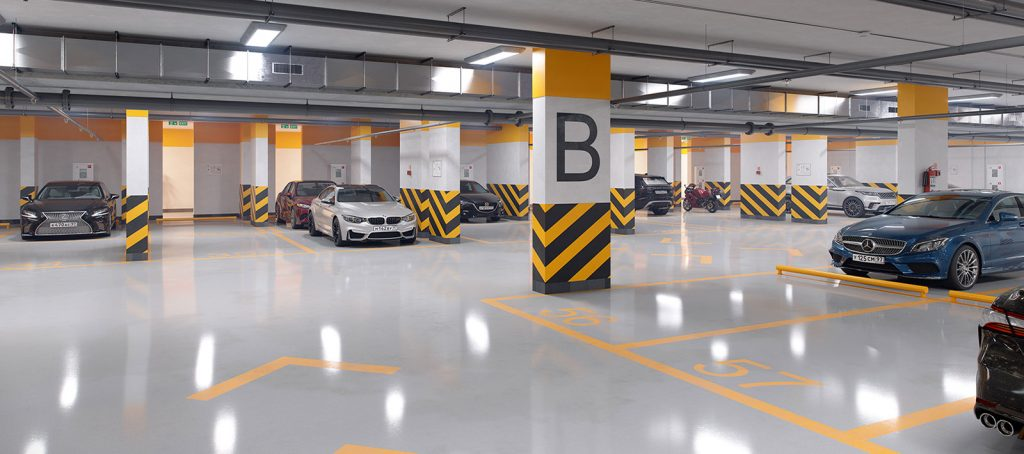 собственный паркинг